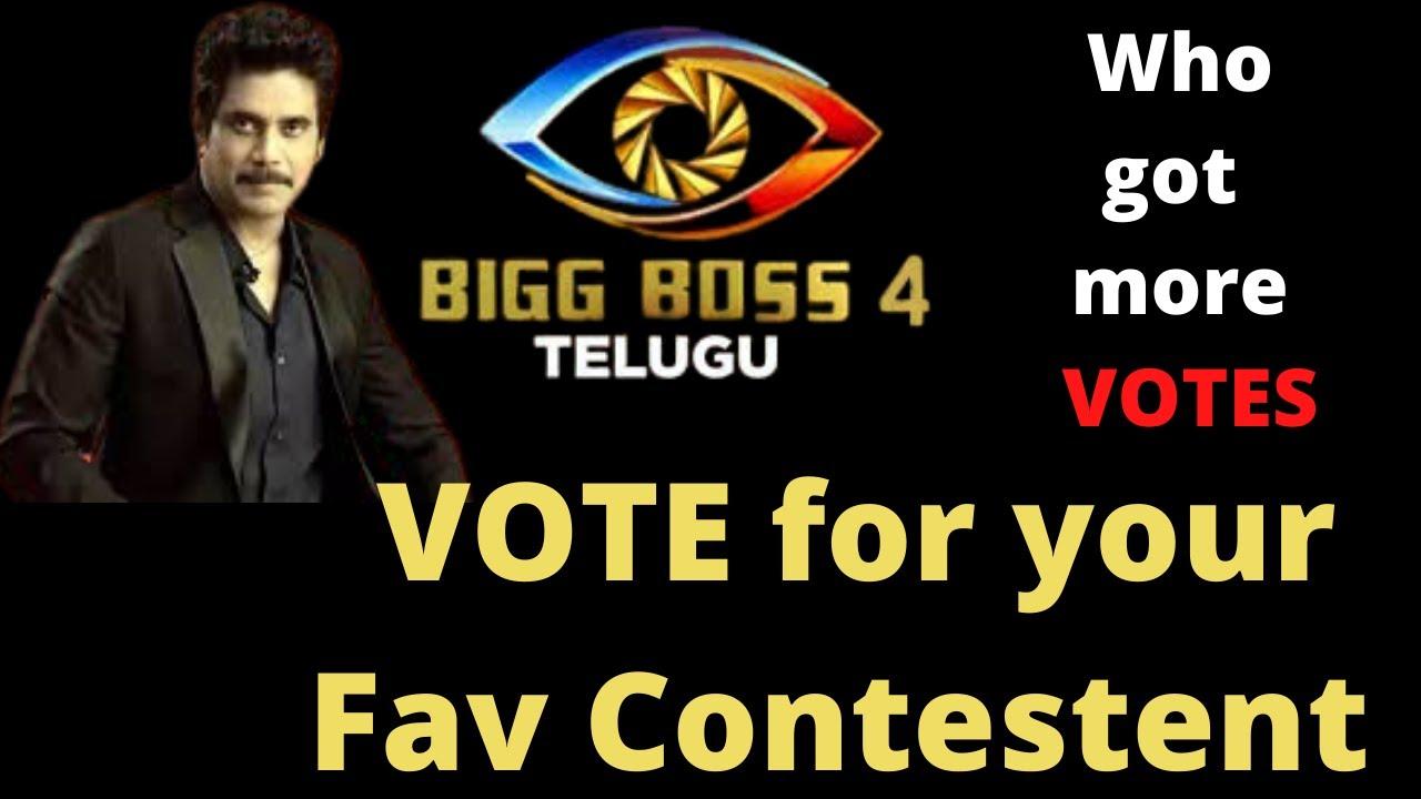 bigg boss 4 telugu vote