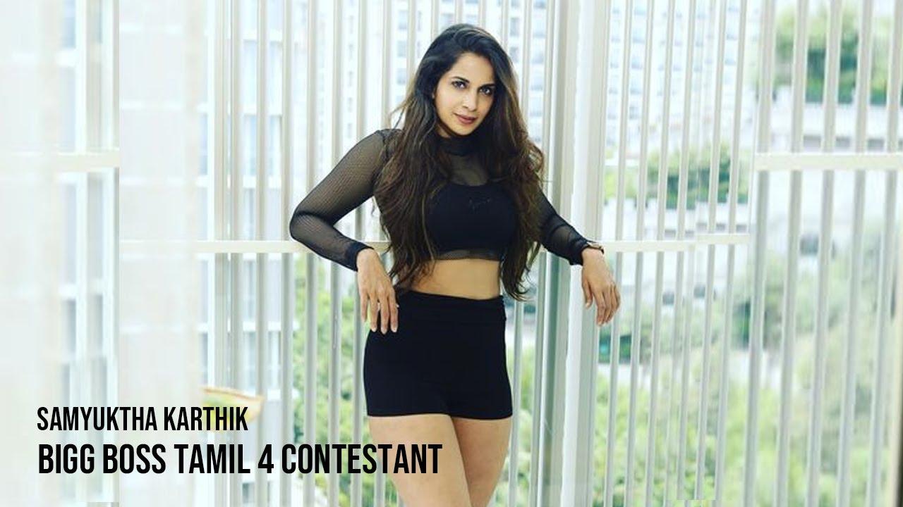 samyuktha bigg boss tamil 4 contestant elimination